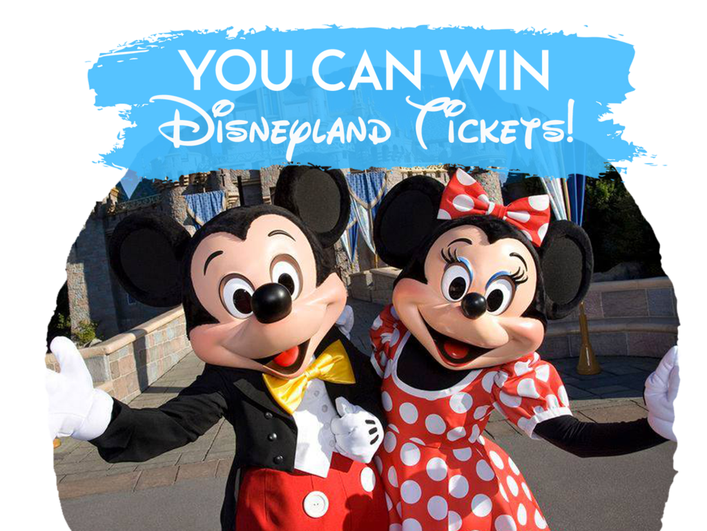You can win disneyland tickets